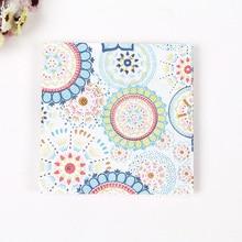 WN033 (3 packs=60pcs ) Flowers Rose Napkins Wedding Napkin Paper 100% Virgin Wood Tissue for Party Decoration цена и фото