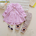 Spring Autumn Children's Sets Long Sleeves Sweatshirts&Cotton Pants Girl Clothing Sets Children's Clothing Kids Clothes For Baby