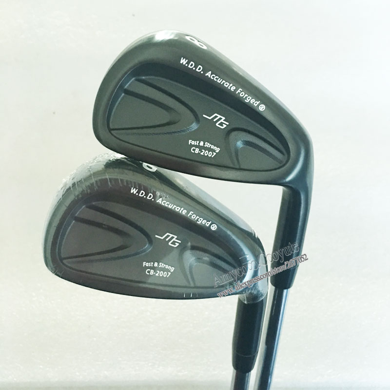 Mew Golf clubs MIURA CB-2007 FORGED Golf <font><b>irons</b></font> set 4-9PG N S PRO 950 R Steel Golf Shaft R or S Flex Right Clubs Free shipping