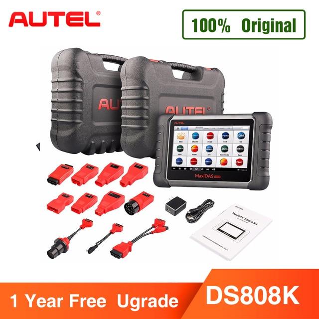 Autel Maxidas DS808K (Upgraded Version of DS808, DS708) KIT Tablet Diagnostic Tool OBD2 Scanner Code Reader Autel  DS808K