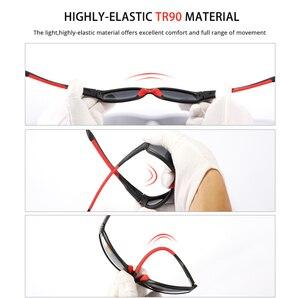 Image 3 - KDEAM Unbreakable TR90 ספורט משקפי שמש גברים מצוין חיצוני נהיגה משקפיים חליפת עבור כל פנים גווני KD712