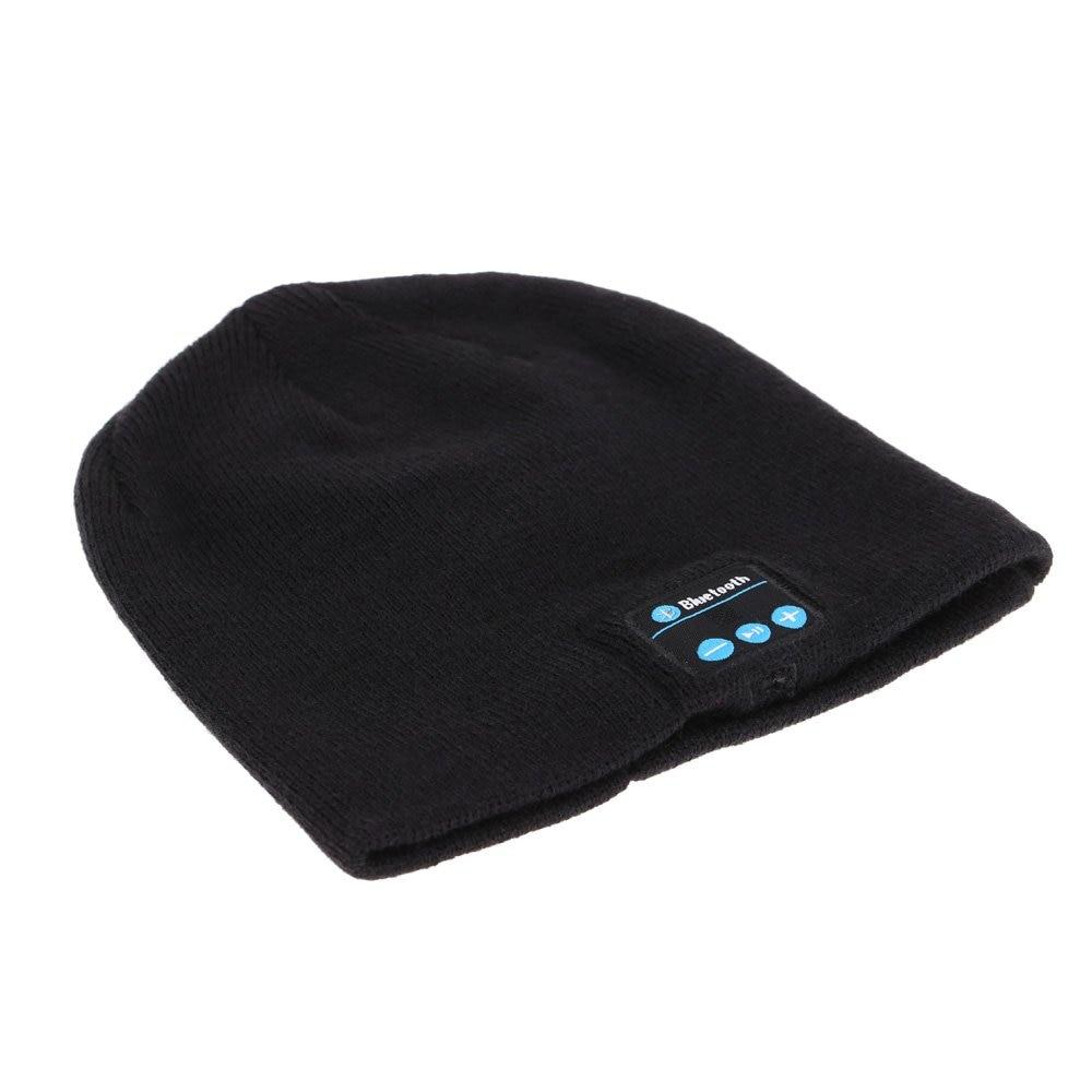 Bluetooth Music Beanie Hat Soft Warm Stereo Headphone Headset Cap edt bluetooth music beanie hat soft warm cap with stereo headphone headset speaker