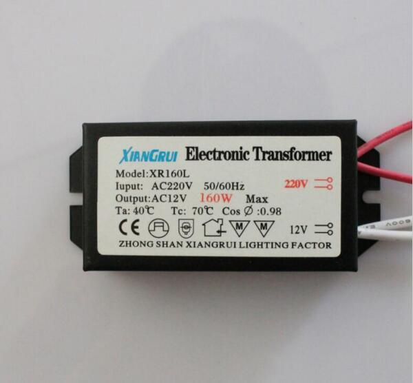 все цены на Electronic Transformer 60W 80W 105W 120W 160W 180W 200W 250W AC220V to 12V For Halogen lamp & Crystal Lamp G4 Light Beads онлайн