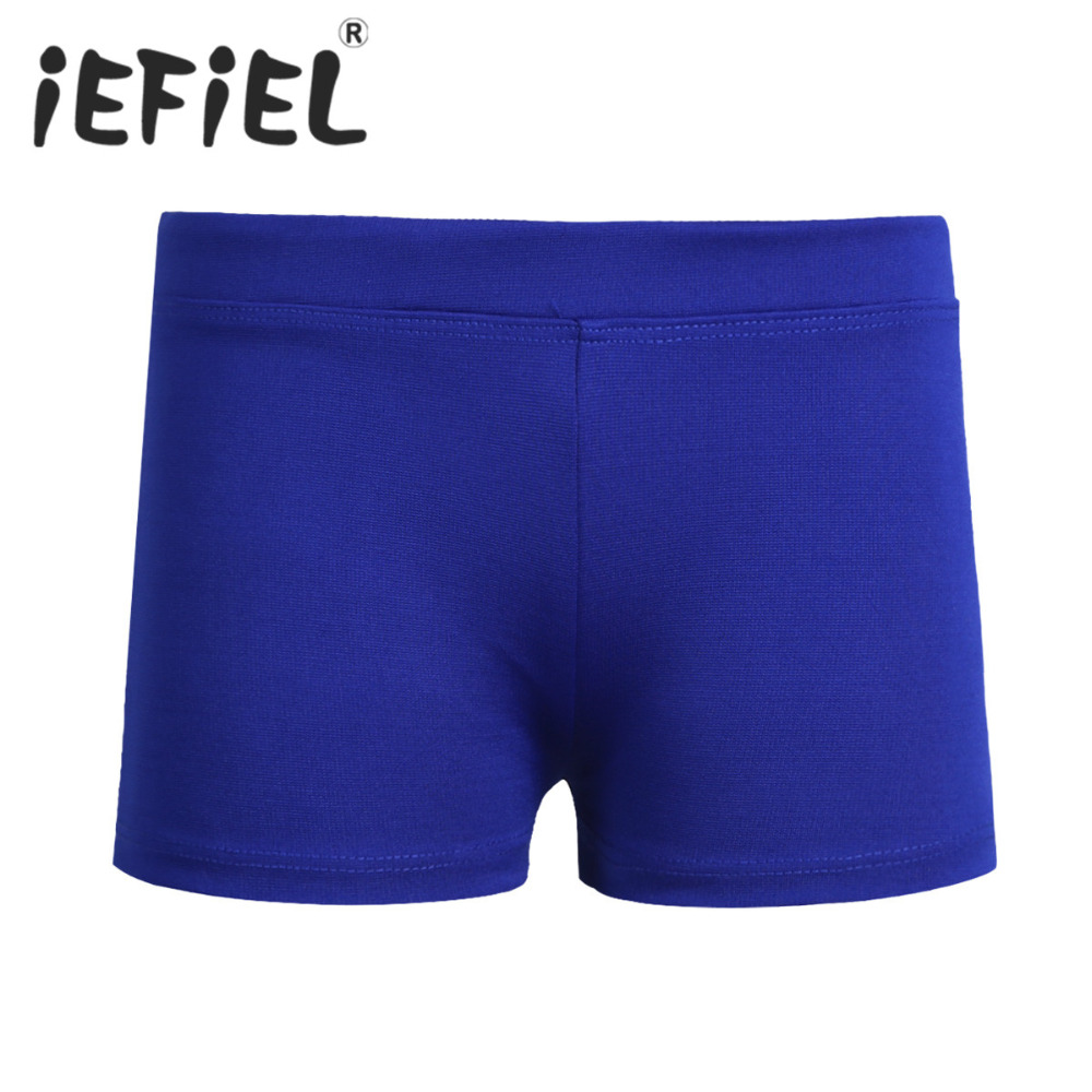 fc931ac11 iEFiEL Girls Boy cut Low Rise Activewear Dance Shorts Kids Toddler Boys  Pants Shorts Casual Clothes for Yoga Sports Workout Gym-in Shorts from  Mother & Kids ...