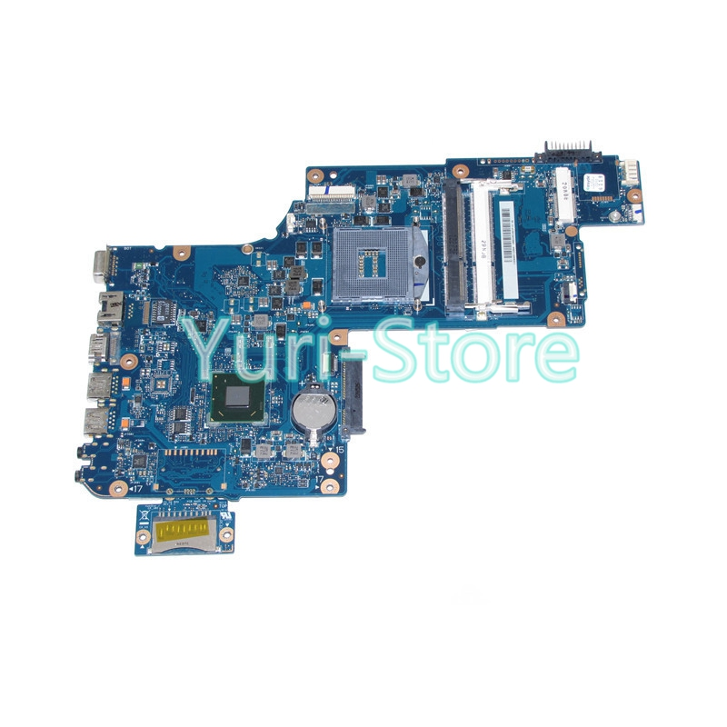 NOKOTION laptop motherboard For toshiba satellite C870 C875 L870 H000046310 17.3 inch HD4000 HM76 warranty 60 days nokotion sps v000198120 for toshiba satellite a500 a505 motherboard intel gm45 ddr2 6050a2323101 mb a01