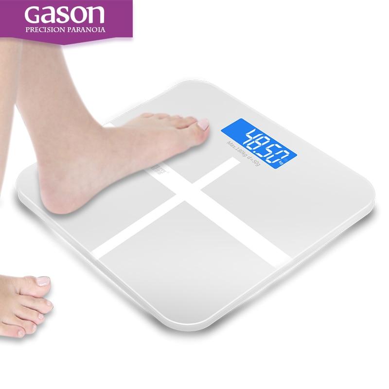 GASON A1 180kg50g Floor Bathroom Scale For Body Weigh Smart Household Electronic Digital Heavy