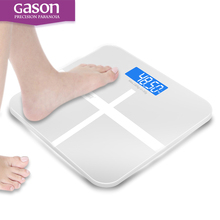 GASON A1 Bathroom floor scales smart household electronic digital Body bariatric LCD display Division value 180kg=400lb/0.1kg