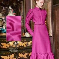 Rare fold sand washed heavy satin silk fabric luxury dress silk fabric 100% silk fabric wholesale high quality silk cloth