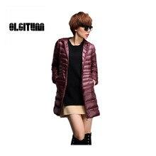 Women Coat Women slim coats parker 2016 winter down jacket women long coat parkas Female Warm Clothes 3 color plus size L-5xl