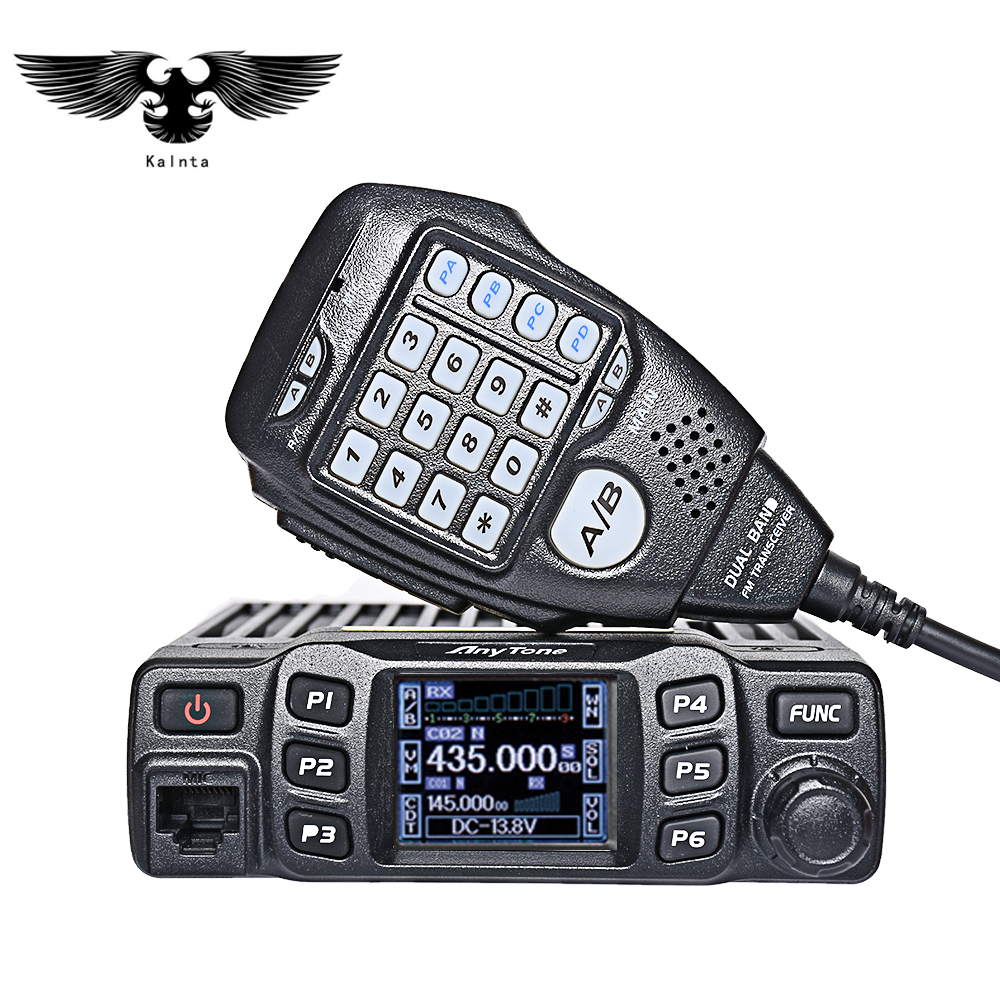 AnyTone AT-778UV Double Bande Émetteur-Récepteur Radio Mobile VHF/UHF à Deux Voies et Amateur Radio Talkie walkie par camionisti Jambon Radio