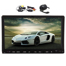 GPS Car Stereo Video MP3 PC CD SD Universal Sub 2 din Auto Radio EQ Electronics Steering Wheel DVD Player Auto MP4