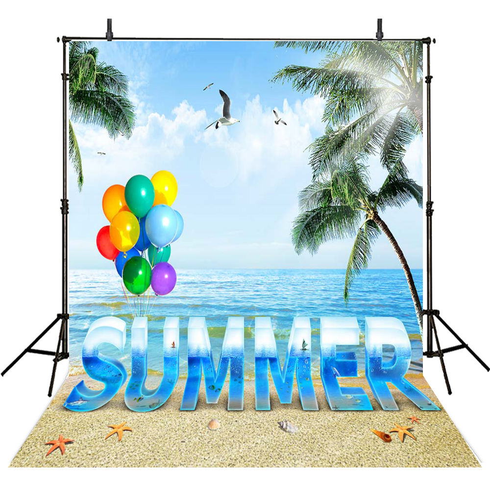 kids photography backdrops summer holiday backdrop for photography balloon background for photo studio summer foto achtergrond - Kids Free Holiday