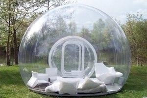 Image 3 - Şeffaf şişme balon çadır tünel ile çin üretici, şişme çadır ticaret fuarları, şişme bahçe çadırı
