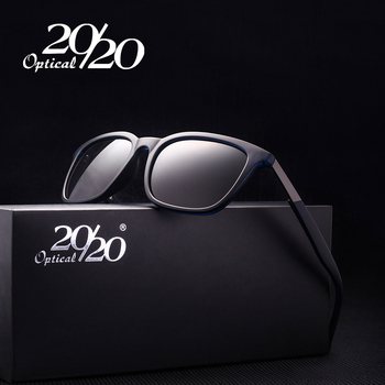 20/20 Retro Terpolarisasi Matahari Kacamata untuk Pria Square Bingkai Logam Kacamata Hitam Pria Mengemudi Kacamata Gafas Oculos PL272