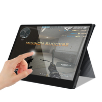 Touch screen Portable Monitor 15.6inch Type C Full HD 1080 IPS USB C Built in Dual Speakers display