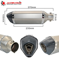 51MM Universal Amazing Escape Moto Modified  Exhaust Motorcycle Scooter Dirt Bike Muffler Pipe YZF600 R6 YZF1000 R1 CBR