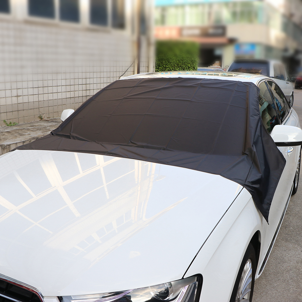 Auto Windschutzscheibe Schneedecke Sonne Abdeckplane mit Magnetische ...