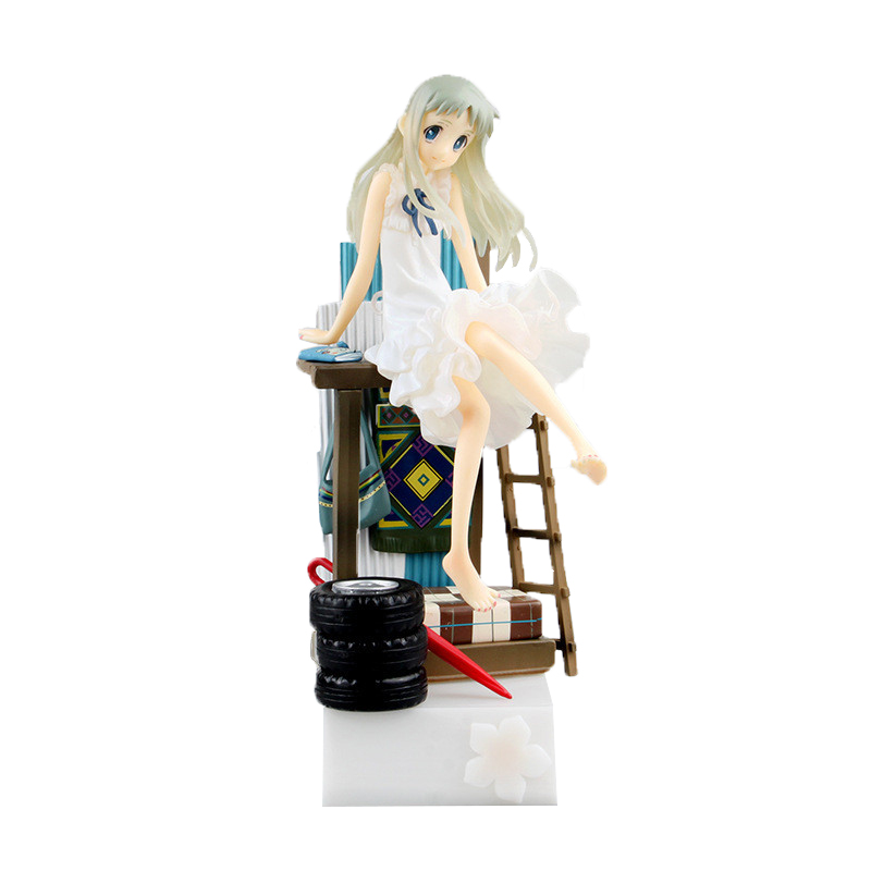 Free Shipping Alter JP Anime Anohana Honma Meiko Menma 21cm/8.3 Actiion Figure Collectible Model Toy free shipping big discount rbl 288diy nude blyth doll birthday gift for girl 4colour big eyes dolls with beautiful hair cute toy