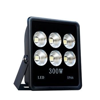 100W/200W/300W/400W Reflector LED Flood Light Waterproof IP66 Spotlight Wall Outdoor Lighting Warm Cold White COB LED FloodLight