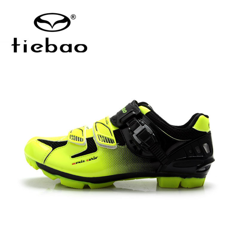 Tiebao Professional  Men Bicycle Shoes Athletic Racing MTB Cycling Bike Mountain Self-Locking Shoes zapatillas ciclismo
