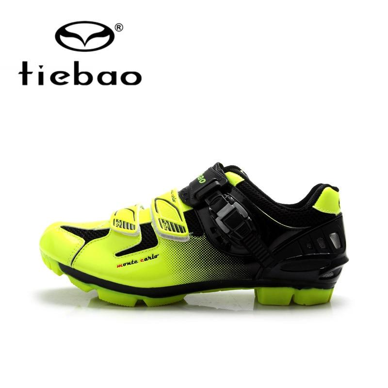 Tiebao Professional Men font b Bicycle b font font b Shoes b font Athletic Racing MTB