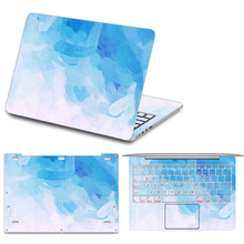 2017 New Colorful Painting Vinyl Decal Laptop Sticker for Xiaomi mi Air 12 13 Notebook Skin for Xiaomi Air 12.5 13.3 Laptop Skin
