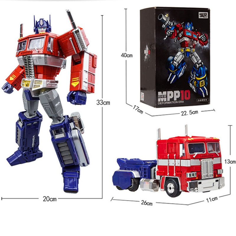 Transformation  Robot MPP10 M01 Alloy Commander Masterpiece Deformation Best Collection  Action Figure Robot  Toys original alloy transformation4 robot toys action figure transformation car robot classic toys for boys juguetes for gifts toys