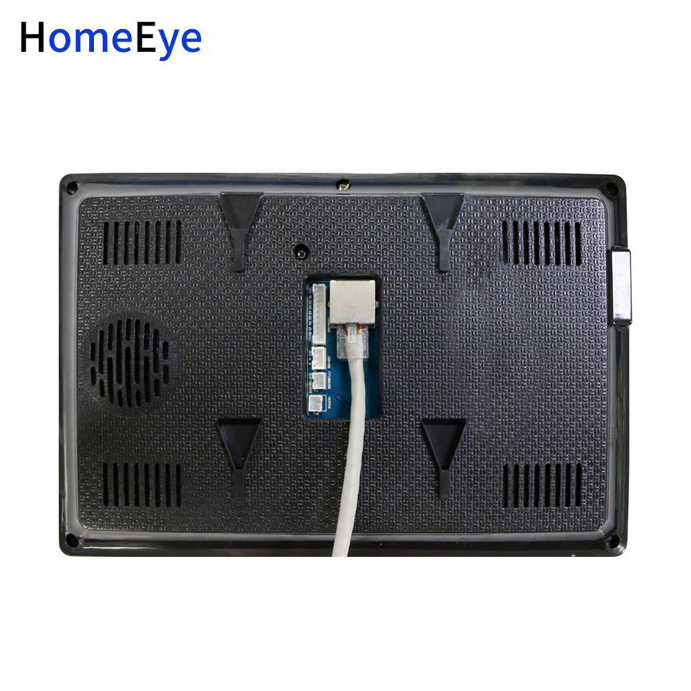 Купить с кэшбэком HomeEye 720P WiFi IP Video Door Phone Video Intercom Android/IOS APP Home Access Control System Video Record Alarm POE Switch