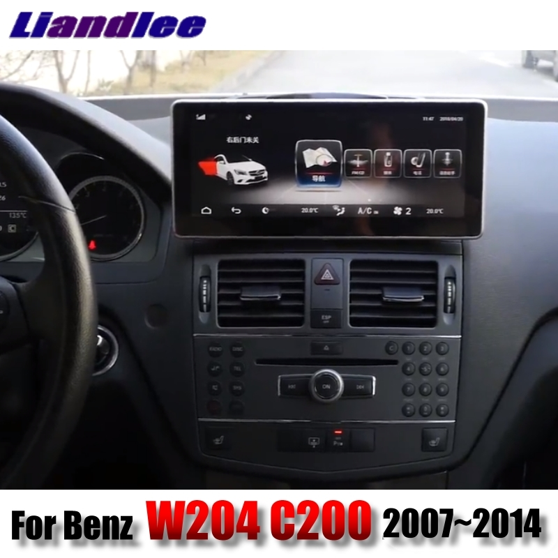 Liandlee Car Multimedia Player NAVI CarPlay Adapter For Mercedes Benz C Class MB <font><b>W204</b></font> 2007~2014 Car <font><b>Radio</b></font> Screen <font><b>GPS</b></font> Navigation image