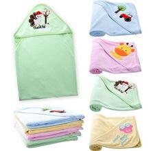 pudcoco Newborn Toddler Cute Infants Baby Kid's Hooded Towel Bathrobe Toddler Boy Girls Lovely Bath Washcloths