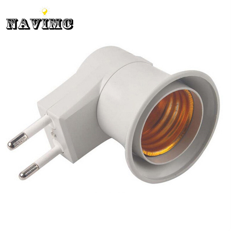 Hot Sale E27 Bulb Socket Adapter Converter Led Lamp Base Switch 40cm Eu Plug Online Discount Lighting Accessories