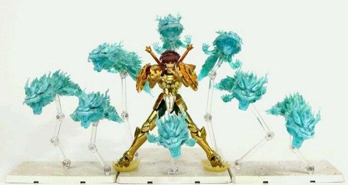Modelo de los FANS de instock datong oro saint EX tela mito Libra dragón 4 Rozan Hyakuryuha los efectos (efecto no contienen la figura)