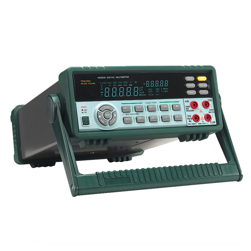 Hot Sale High Precison Quality <font><b>MS8050</b></font> Digital Multimeter 53K Counts High Accuracy Instrument Bench/True RMS With Carry Box image
