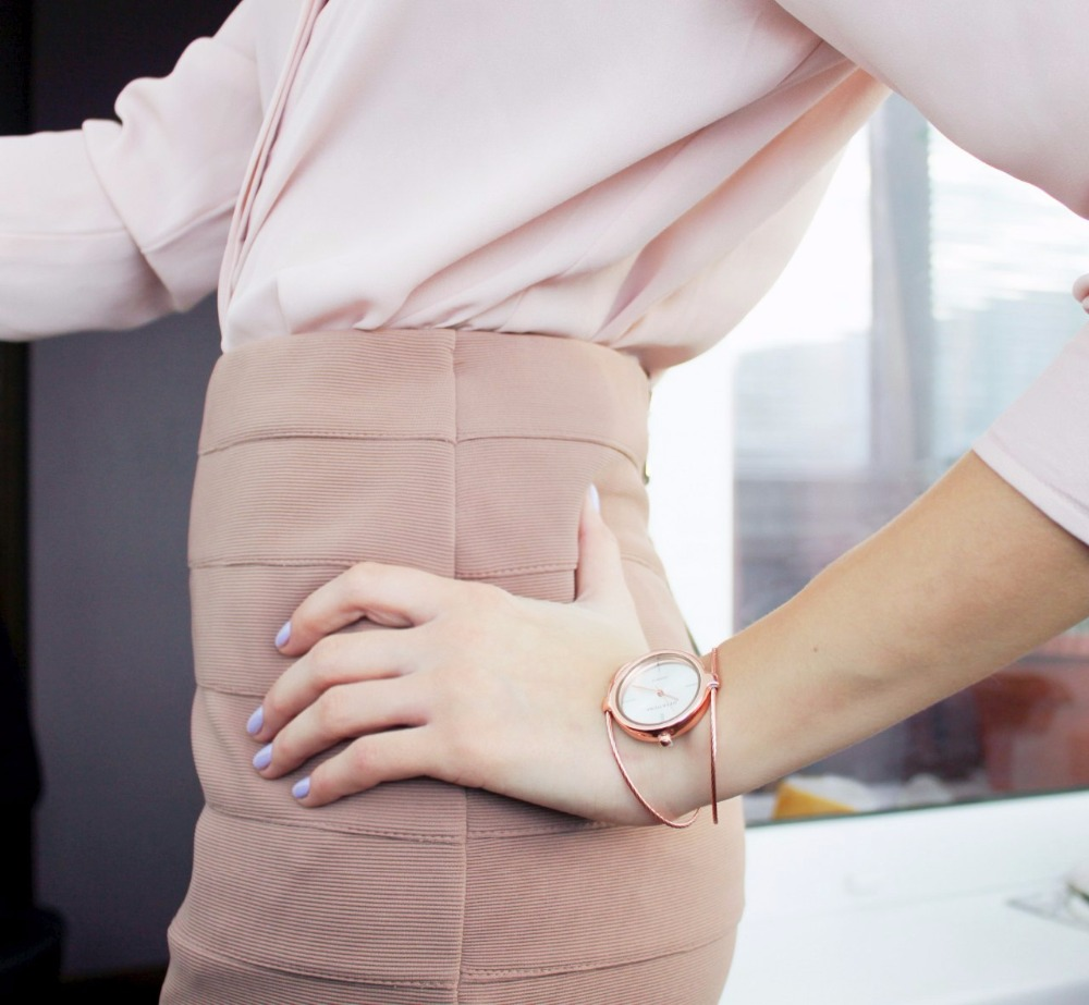 GEEKTHINK Metropolitan Fashion Luxury Brand Quartz Watch Kvinnor - Damklockor - Foto 2