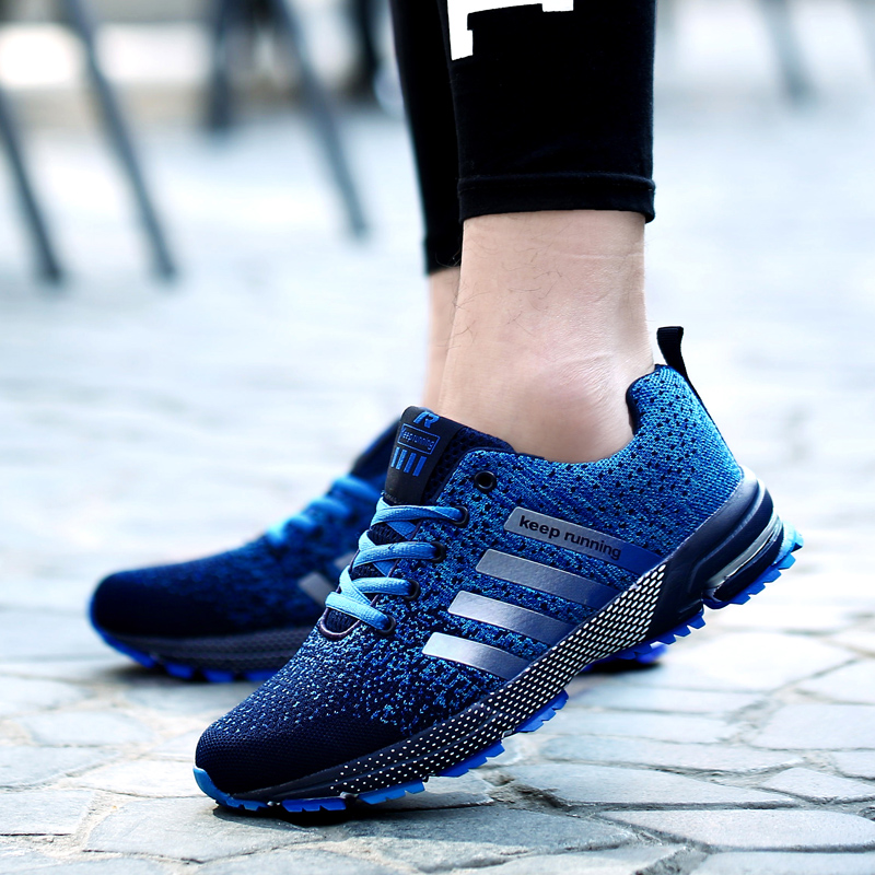 2018 hot sale adult Breathable sports <font><b>shoes</b></font> men women outdoor <font><b>Athletic</b></font> Training light running <font><b>shoes</b></font> for male Comfortable sneaker