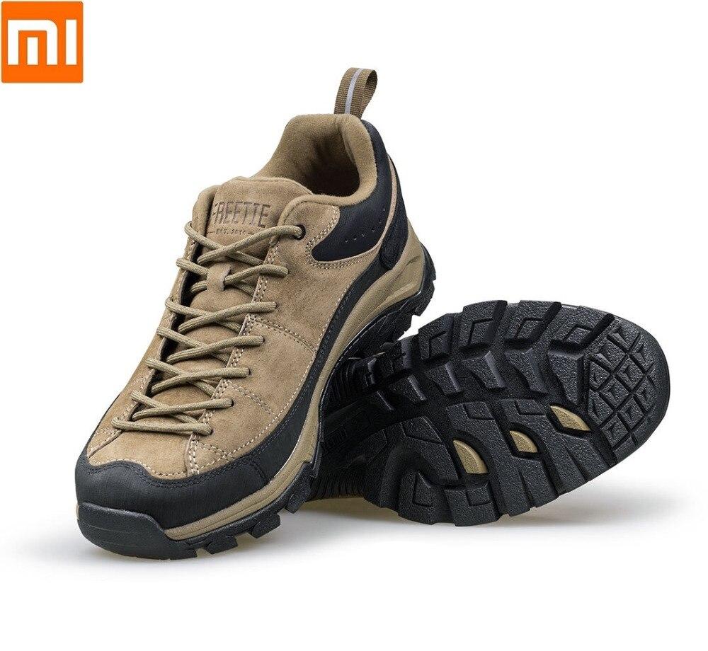Xiaomi FREETIE de marche en plein air chaussures Ultra poids léger Non-glissement sable supérieure Imperméable résistant à l'usure chaussures de randonnée