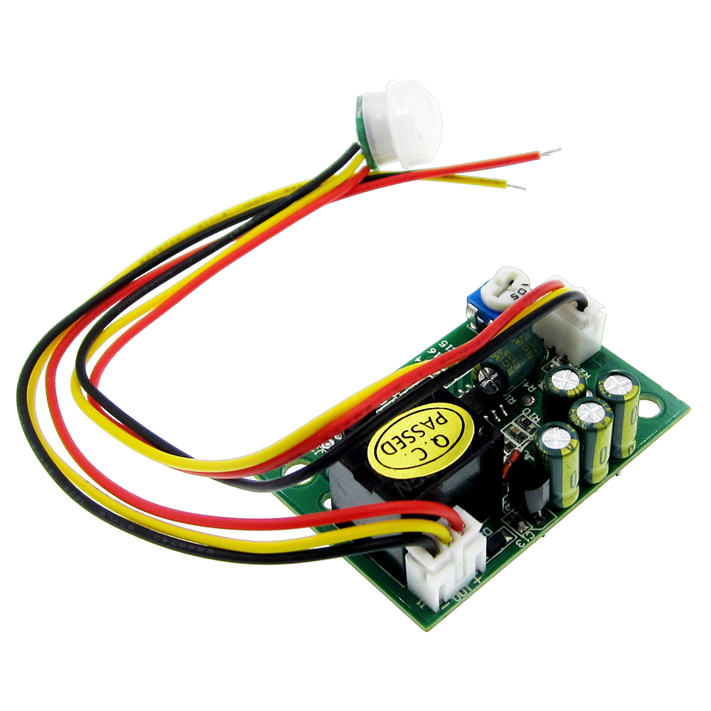Human Infrared Sensor Module Body Induction 12 V PIR Pyroelectric Infrared Sensors Imports Probe To Adjust The Relay Output