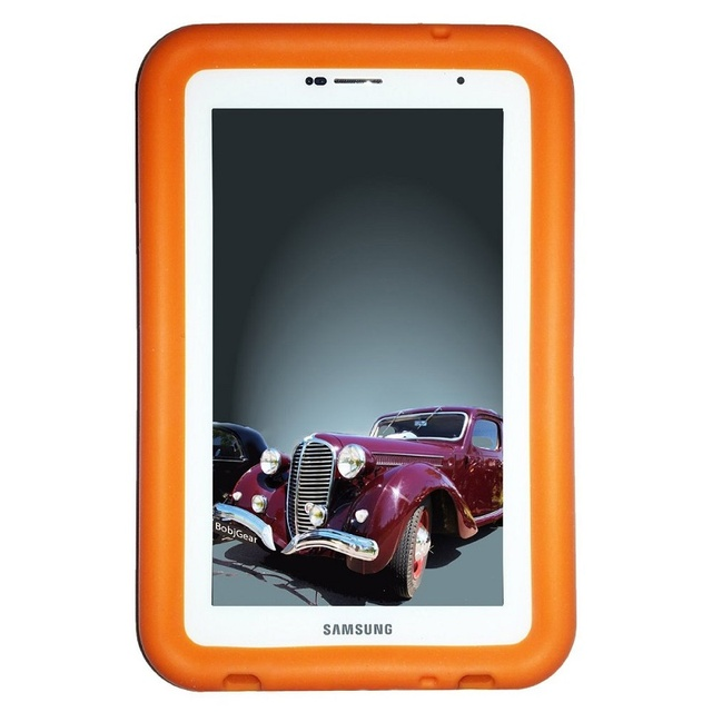 MingShore Rugged Tablet Cover Case For Galaxy Tab Plus 7.0 Silicone Cover For Samsung Galaxy Tab 2 7.0 GT-P3100 P3110 Flat Case