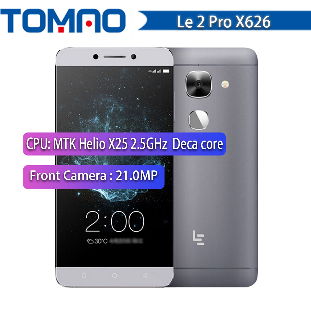 LeEco LeTV Le S3 X626/X522/Le 2 X527 X520/X620 CallPhone 5.5 Inch FHD Screen Android 6.0 4G LTE Smartphone Quick Charge Touch ID
