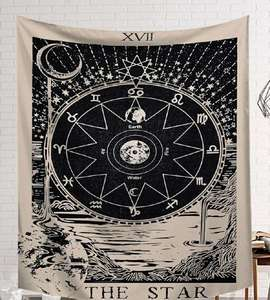 Image 5 - CAMMITEVER Black White Devil With Wings Classic European Styles Tapestries Beach Tapestry Printing Wall Hanging Art Collection