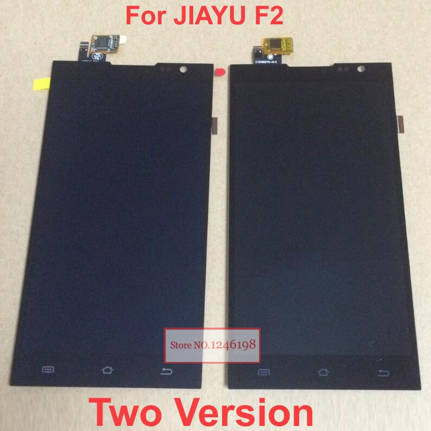 Prix pour Nouveau JY-F2 LCD Display + Écran Tactile Panneau de Verre Digitizer Assemblée Pour JIAYU F2 Téléphone Remplacement Réparation Livraison gratuite