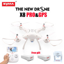 Newest SYMA X8PRO GPS DRONE RC Quadcopter With Wifi Camera FPV Professional Quadrocopter X8 Pro 720P RC Helicopter Vs CX20