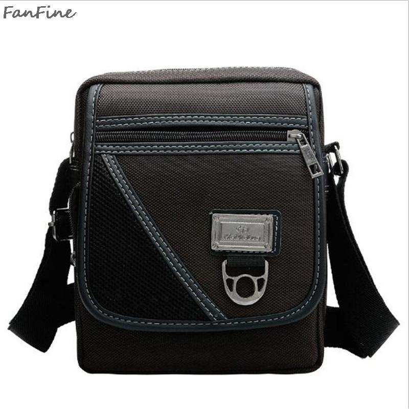 The new fashion Korean version of the men's bag men's men's shoulder Messenger bag Oxford cloth package 216
