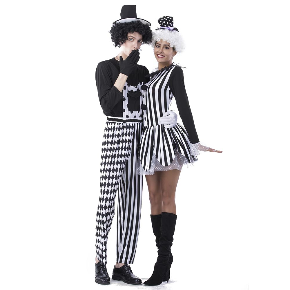 jester halloween costumes adults aliexpress buy jester couples costumes deluxe freaky