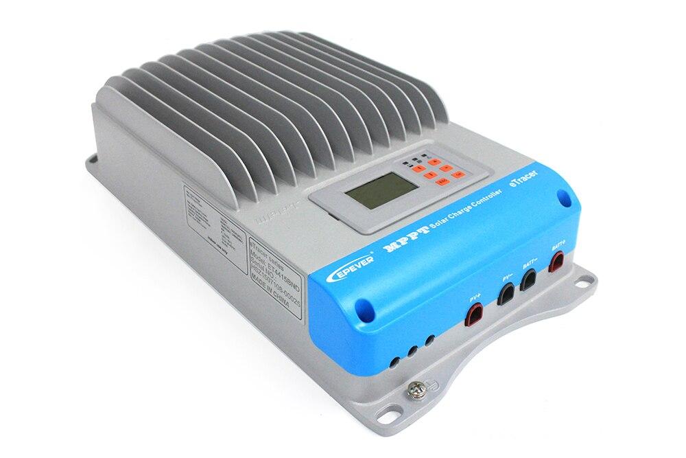 MAYLAR@ MPPT 60A Solar Charge Controller eTracer ET6415,ET6415N 12V 24V 36V 48V EP Solar Battery Charge Regulators,LCD Display цена и фото
