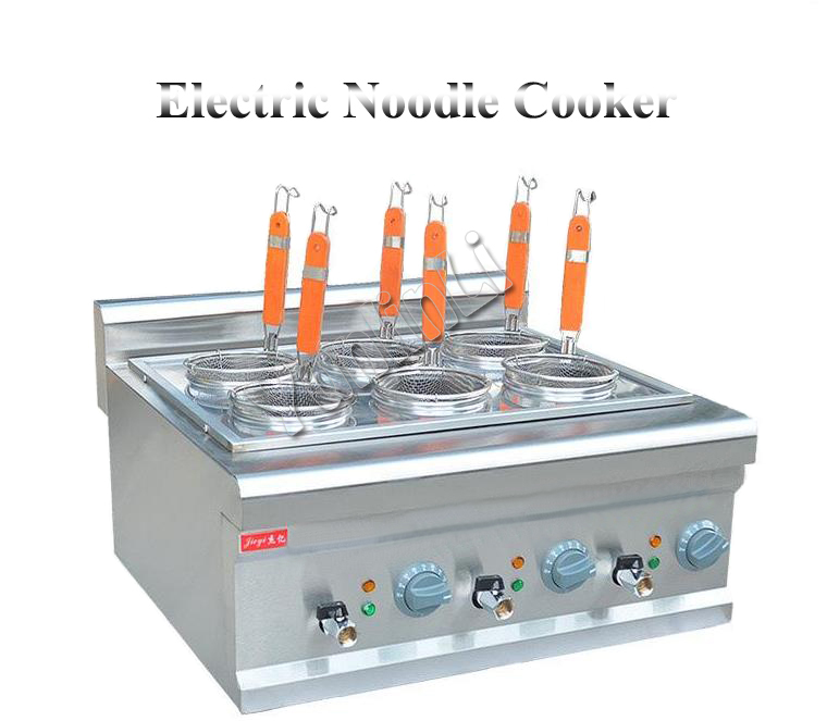 Electric Noodle Cooker Commercial Stainless Steel Noodle Cooking Machine Desktop Pasta Cooker Pasta Cooking Machine FY-6M free shipping electric table type noodles cooking machine with ce pasta cooker