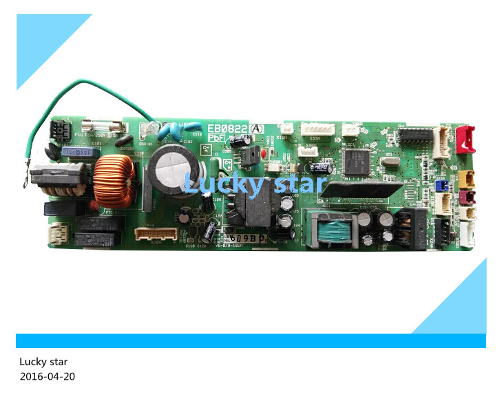 95% new for Air conditioning computer board circuit board EB0822 FJFP28LVC FZFP36LV FJFP90LVC good working wire universal board computer board six lines 0040400256 0040400257 used disassemble