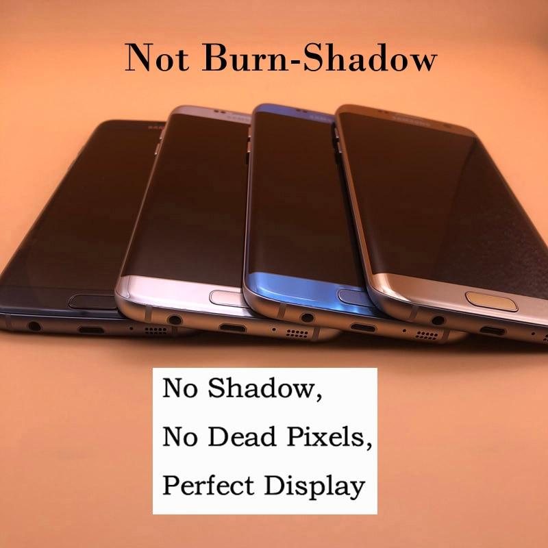 ORIGINAL 5 5 SUPER AMOLED Display With Frame For Samsung Galaxy S7 Edge Display G935F G935