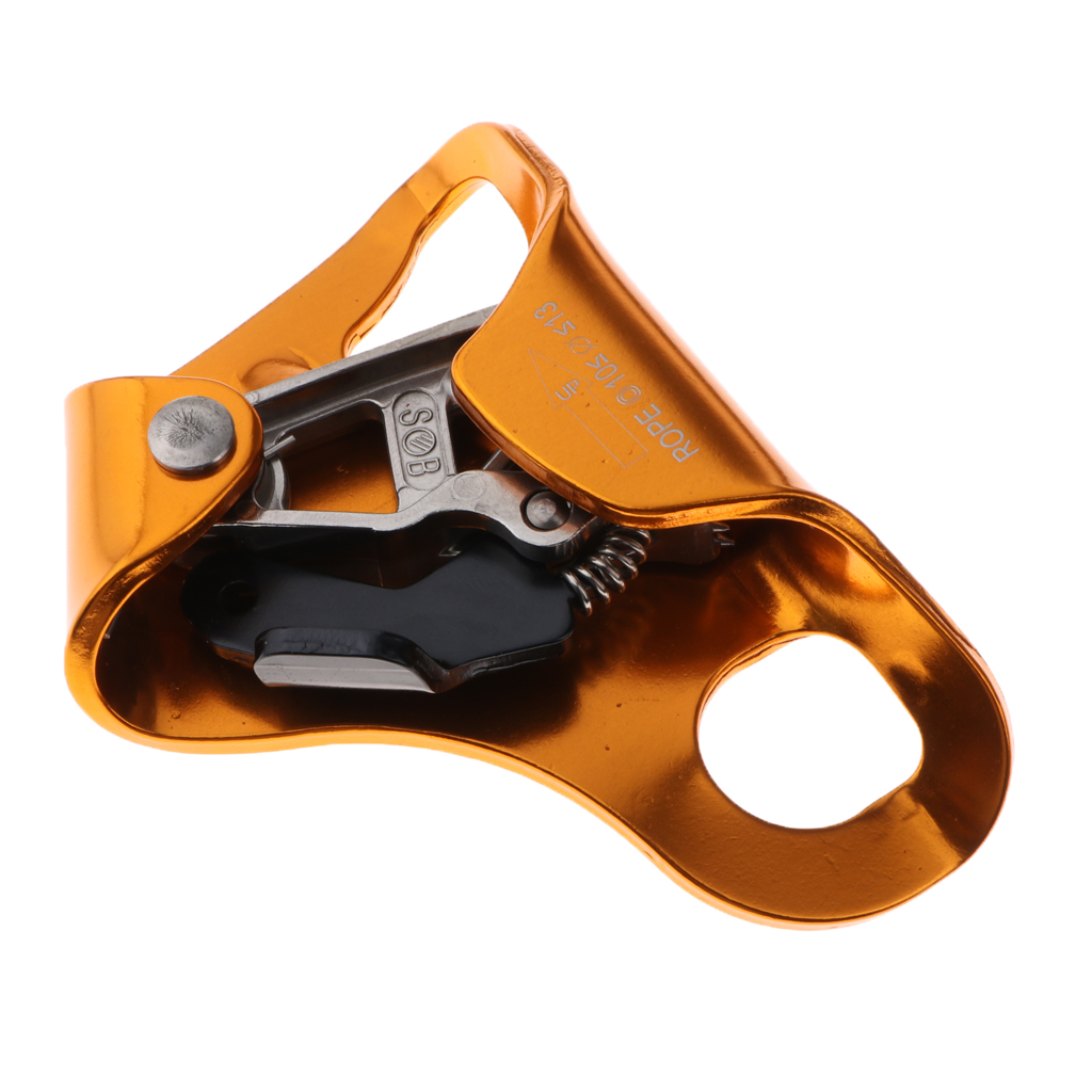 Aluminum Alloy Chest Ascender Rock Climbing Tree Arborist Rappelling Gear Equipment Rope Clamp For 8~13MM Rope For Climbing
