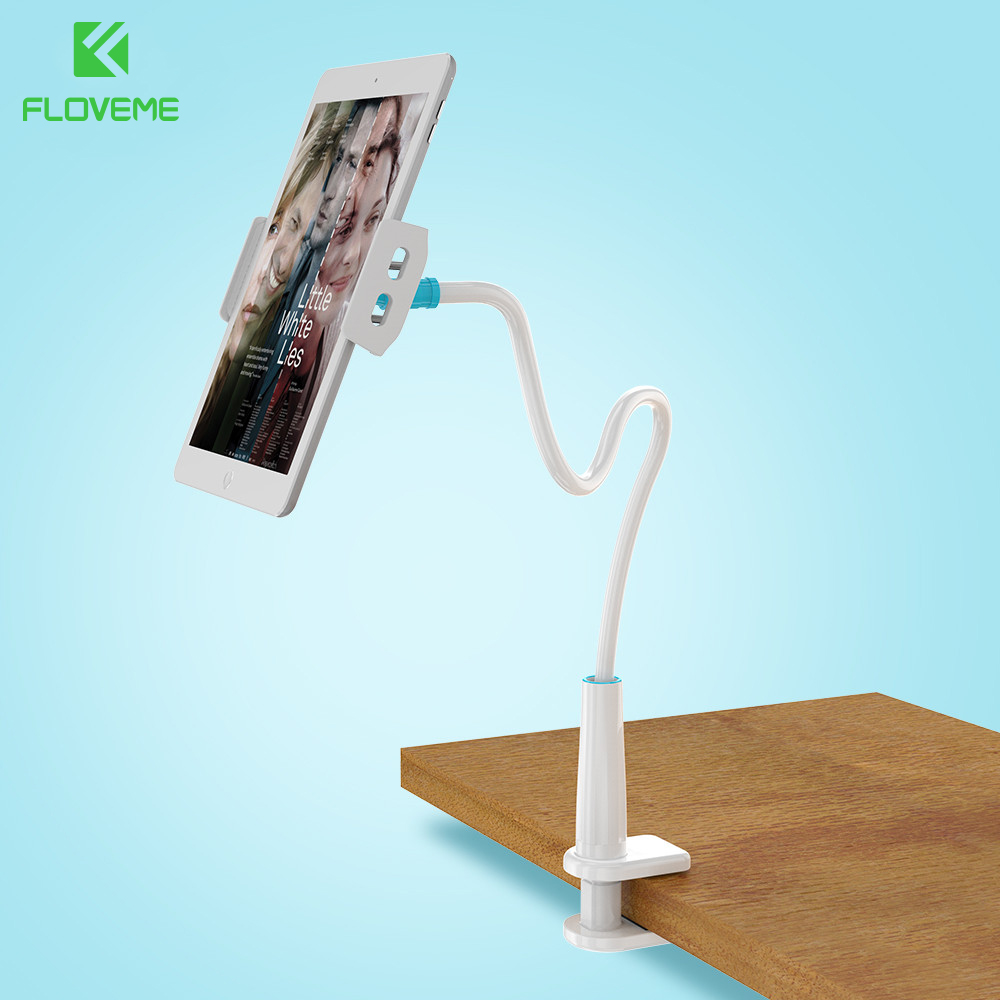 FLOVEME Universal 360 Degree Rotation Mobile Phone Holder For iPhone Samsung iPad Huawei Pad Tablet Support Stand Holder Bracket